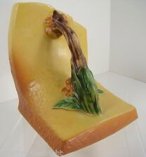 Roseville Pottery Vintage GORGEOUS SIGNED BITTERSWEET Yellow SINGLE Bookend 859
