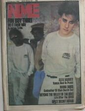 UK NME 13.2.82: Fun Boy Three Alex Harvey Spizz