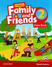 Oxford FAMILY AND FRIENDS 2 Class Book with MultiROM Second Edition (2014) @NEW@