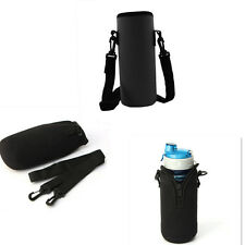750ML Travel Milk Water Bottle Insulated Cover Carrier Bag Warmer Pouch Black