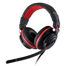Thermaltake Tt Esports Dracco Capitán Negro + Rojo Headset-ht-drc009ecre