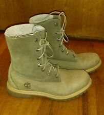 Timberland Women's Boots Green Leather 8.5M