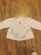 Next-superbe fille en coton rose veste, spot doublure âge 12-18 mois très bon état