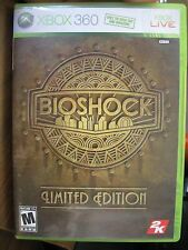 BIOSHOCK LIMITED EDITION XBOX 360 2007 COMPLETE WITH MANUAL