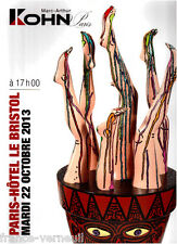 "Catalogue vente KOHN 60 oeuvres de Robert Combas 2013 Jean Dubuffet ""Phenomene"""