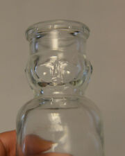 Vintage Milk Bottle With Face - Chef no dairy name