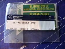 Original Mercedes pegatinas-set plomo Super para w107 w114 w116 w123 w124 w126