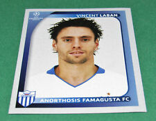 52 V. LABAN FAMAGUSTA CYPRUS UEFA PANINI FOOTBALL CHAMPIONS LEAGUE 2008 2009