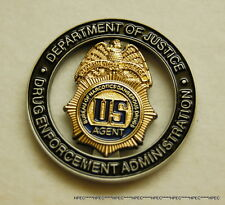 NEW US DEA BNDD 45yrs ANV. of the TASK FORCE Program Badge Coin Federal Agent