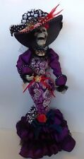 """Katherine's Collection Consuelo de Muerte 22"""" Day Of The Dead Doll W/Stand NWT"""