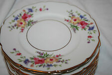 H & CO. SELB BAVARIA GERMANY HEINRICH US ZONE PATTERN#16257 (5) SALAD PLATES