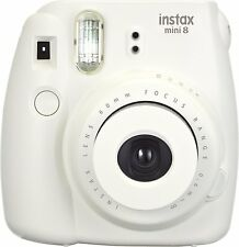 FujiFilm Instax Mini 8 Instant Film Camera ( White ) With manufacturer Warranty