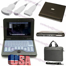 USA Portable Diagnostic Notebook Ultrasound Scanner Ultrasonic CMS600P2+3 Probes