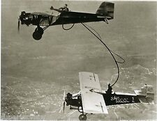 Vintage Aviation St. Louis Robin Refueling In Air Curtiss Robin Airplane GREAT