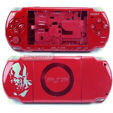 Red Housing Faceplate Case Cover for PSP 2000 Slim ( GOW Limited Edition )