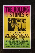 The Rolling Stones Poster 1965 Buffalo NY Palace Center