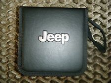 JEEP  CD DVD CASE wallet holder HOLD 48 CDS/DVDS   AUTO CAR  CHRISTMAS