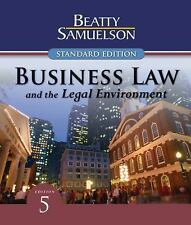 Business Law And The Legal Environment by Jeffrey F Beatty