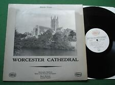 Music from Worcester Cathedral Christopher Robinson Bramma ABBEY 611 LP