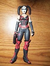 "DC 6"" figure Harley Quinn from Arkham City 4 pack excellent condition & complete"