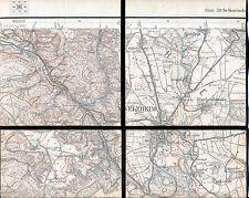 Welzheim Breitenfürst 1916 orig. Teilkarte/Ln. Rienharz Steinbruck Rienharz Aich