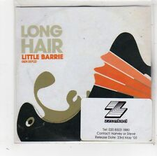 (FW356) Long Hair, Little Barrie - 2005 DJ CD