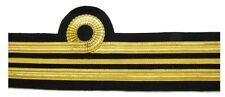 Cuff Rank Sleeve Cuff Curls Lt Cdr Navy Gold Wire Lieutenant Commander R971