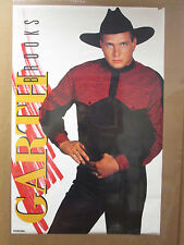 vintage 1992 Red Garth Brooks original poster  6978