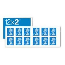 NEW Royal Mail Stamps 2nd CLASS Book of 12 x 3 UK Postage