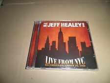 The Jeff Healey Band - Live From NYC 1988 (2013 CD) New & Sealed