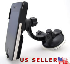 NEW iPhone 4S 4 4G Suction Car Window Dock Mount + Belt Clip verizon sprint at&t