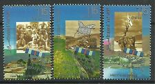 ISRAEL. 1998. Independence Battle Fronts Set. SG: 1384/86. Mint Never Hinged.