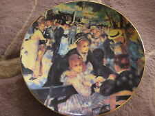 The Masterpieces Of Impressionism Le Moulin De La Galette By Renoir France Plate