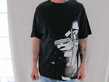 FAMOUS STARS and STRAPS Street Sceen Black Size XLarge T Shirt