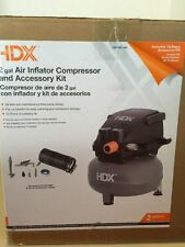HDX 2 Gallon Pancake Air Compressor  TANK & MOTOR ONLY NO HOSE / ACCESSORIES
