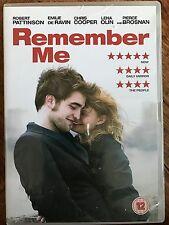 Robert Pattinson Pierce Brosnan REMEMBER ME ~ 2010 Romantic Drama | UK DVD