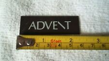 advent speaker emblem logo badge used very nice! vintage rare! loudspeaker