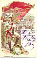 """Sport, Turnen, Gymnastik """"Gymnastes Salut"""", Chaux-de-Fonds, 1900"""