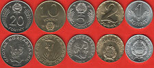 "Hungary set of 5 coins: 1 - 20 forint 1990 ""Transitional Coinage"" (RARE) UNC"