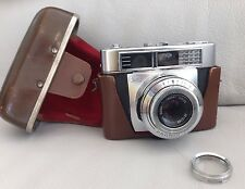 VINTAGE - ZEISS IKON CONTESSA LKE CAMERA & ORIGINAL LEATHER CASE & KODISK FILTER