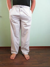 Massimo duty vtg look rétro en coton rayé pyjama bas night wear sz l AW97