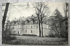 """CPA """" Château de FLEVILLE près Nancy - Côté du Parc"""