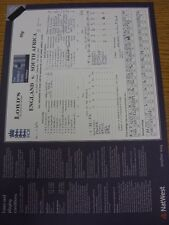 12/07/2003 Cricket Scorecard: England v South Africa [At Lords] (Written Results