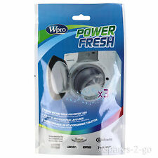 Power Fresh Washing Machine Washer Cleaner Odour Mould Mildrew Affresh 3 Tablets