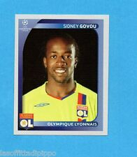 PANINI-CHAMPIONS 2008/2009-Fig.362- GOVOU - OLYMPIQUE LIONE -NEW BLACK