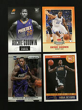 (4) ARCHIE GOODWIN ROOKIES 2013 PRIZM, PANINI, FLEER, HOOPS RC BASKETBALL CARDS