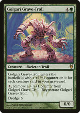 Magic the Gathering MTG 1x Golgari Grave-Troll x1 LP/LP+ Duel Deck 9 Available