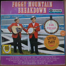 EARL SCRUGGS/LESTER FLATT FOGGY MOUNTAIN BREAKDOWN HOLLAND PRESS LP