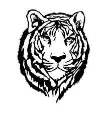 Airbrush Schablone - Stencil Art.-Nr.128 Tiger aus Mylar Folie