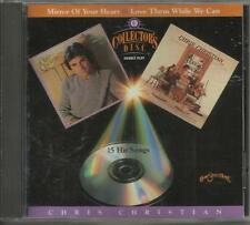 CHRIS CHRISTIAN Miracle Of The Heart / Love Them While We Can CD Mint